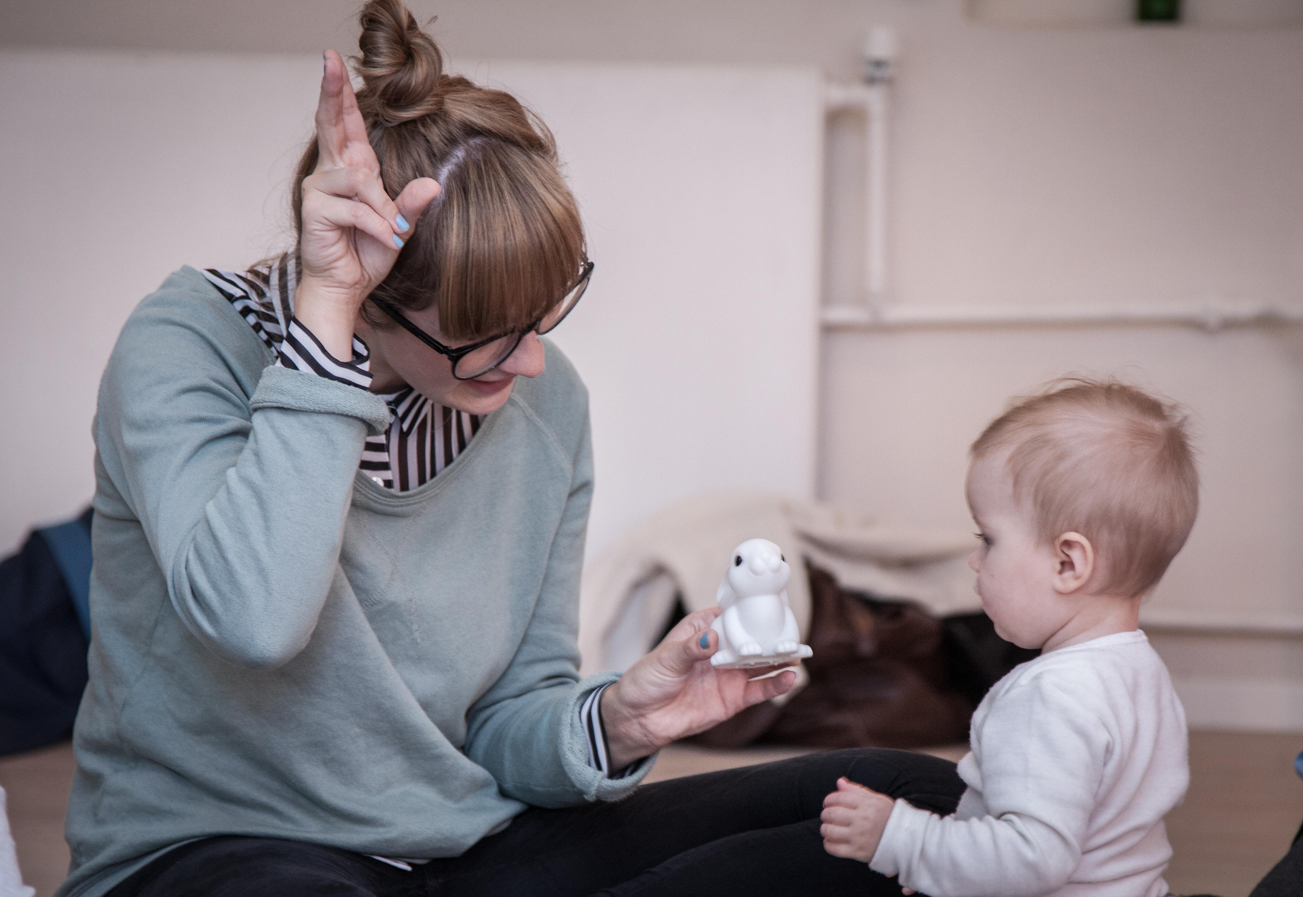 Mor og Baby til holdundervisning